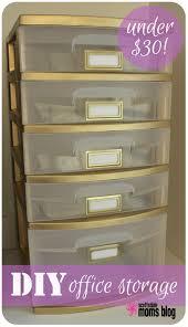 diy office storage organization 2 cheap office storage