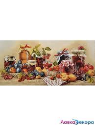 <b>Картина</b>. <b>Гобелен</b> в раме <b>Натюрморт</b> с фруктами 35*70 см - цена ...