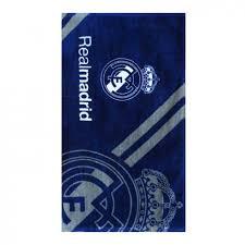 <b>Полотенце</b> футбольное Реал <b>Мадрид</b> 100% хлопок 35х75 см 2305
