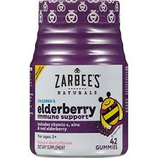 Zarbees Naturals <b>Childrens Elderberry Immune Support</b>* with ...