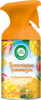 Купить <b>Освежитель воздуха</b> Air wick Pure <b>сочный Манго</b> 250мл с ...