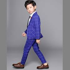 Buying 2-12 Years Kid Boys 2 PCS Suit For Party Wedding New ...