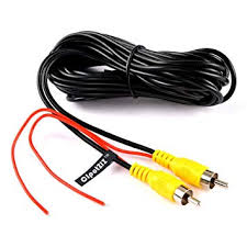 RCA Video Cable, <b>Car Reverse Rear View</b> Parking Camera ...