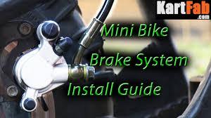 Mini <b>Bike Brake</b> System: <b>Hydraulic</b> Kit Install & Adjustment - YouTube