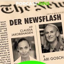 Eilmeldung - Der Newsflash mit Ari Gosch UND Claudia Jakobshagen