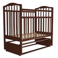Детская <b>кроватка Агат Золушка</b>-5 маятник продольный ...