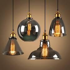 Buy Online Nordic <b>Vintage Pendant</b> Lights Glass Lamp <b>Loft</b> Kitchen ...
