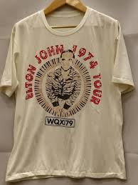 ELTON JOHN 100% Cotton <b>New Vintage</b> Band T Shirt in <b>2020</b> ...