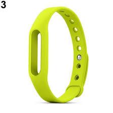 <b>Replacement Silicone Wrist</b> Strap Bracelet Wristband for Xiaomi Mi ...
