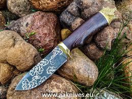 Knife ''BEAR'' - an elegant <b>hunting</b> knife made of forged good ...