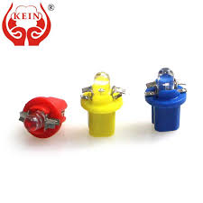 KEIN <b>1PCS</b> T5 B8.5D B8.5 <b>Led Bulb</b> COB LED Car Auto Instrument ...