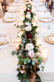 reception table ideas christmas
