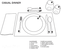 Image result for formal luncheon table setting