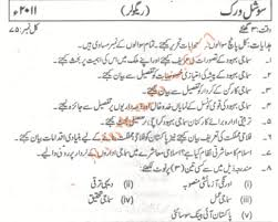 University of Karachi Past Papers BA Part I amp II Social Work     Past Papers      University of Karachi BA Part   Social Work Urdu Type jpg