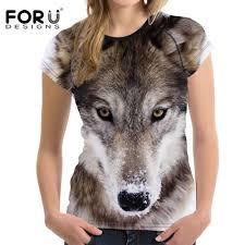 <b>FORUDESIGNS</b> 2018 Fashion Summer <b>Women T shirt Women's</b> 3D ...