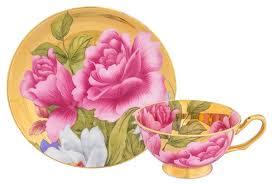 <b>Elan gallery Чайная пара</b> Пионы на золоте — купить по выгодной ...