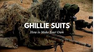 Green Beret <b>Sniper Ghillie</b> Suit Construction - YouTube
