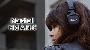 Обзор наушников <b>Marshall Mid A.N.C</b> - YouTube