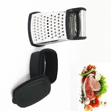 kitchen containers for sale  hot sale box grater kitchen grater multi shredder with bonus storage container stainless steel black kitchen tools