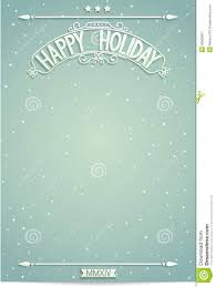happy holiday poster template for wishes royalty stock happy holiday poster template for wishes