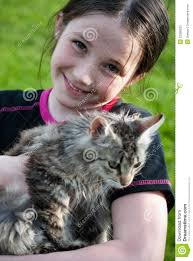 Cute girl with kitten - cute-girl-kitten-22286933