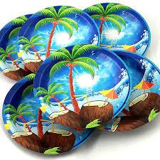 """Набор <b>одноразовых тарелок Эврика</b> """"Пальма"""", диаметр 19 см, 6 ..."""