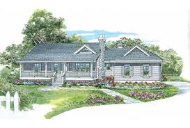 Eplans Farmhouse House Plan   One Story Country Style      Front