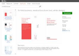 how to create a company brochure on a budget spicy spirit marketing microsoft office brochure