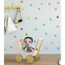 Isabelle & Max Hand Drawing <b>Colorful Polka Dot Wall</b> Decal | Wayfair