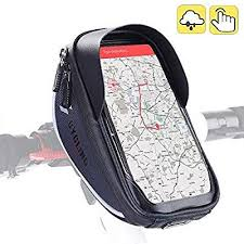 Aselife Waterproof <b>Bike</b> Handlebar <b>Bag</b>, <b>Bicycle Phone</b> Mount ...