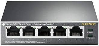TP-Link 5 Port Gigabit PoE Switch | 4 Port PoE 56W ... - Amazon.com