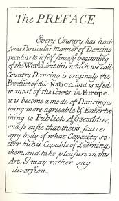 country dancing dance in history john essex preface for the further improvement of dancing 1710 first