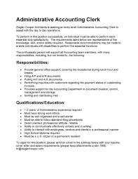 resume accounting duties for resume picture of accounting duties for resume