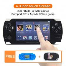 8GB <b>4.3 inch</b> Touch <b>Screen</b> Handheld <b>Video</b> Game Console Build in ...