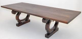 old world dining tables old world style dining table with trestle base design