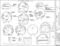 Geodesic Dome Home Plans   AiDomes ft   plans    amp  has planner  amp  elevation view
