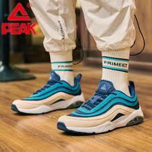 PEAK Men <b>Air Cushion</b> Casual Shoes Lightweight Breathable Retro ...