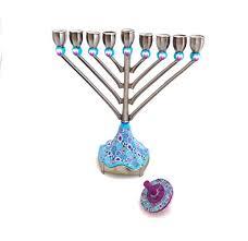 Traditional Hanukkiah Hanukkah Lamp Made Of ... - Amazon.com