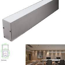 2016 hot pendant lighting aluminum profile led strip for waterproof led strip light or led bar cheap office lighting