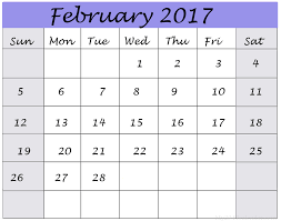 Image result for February 2017 Calendar Printable | Free Templates