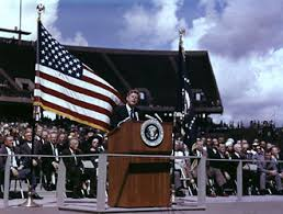 John F. Kennedy Moon Speech - Rice Stadium