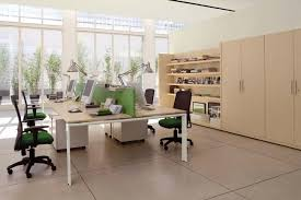 beautiful white brown wood glass cool design interior workspace office walled table wood top swivel chairs beautiful cool office designs information home