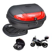<b>72 L</b> Back <b>Motorbike</b> Top <b>Box</b> Storage <b>Motorcycle</b> Scooter Case ...