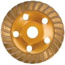 <b>Щетка чашка</b> алмазная для <b>МШУ</b> 125мм TURBO MATRIX