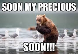 soon my precious soon!!! - Evil Scheme Bear - quickmeme via Relatably.com