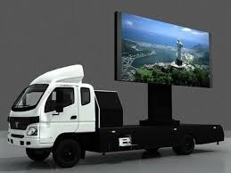 <b>Hot Sale</b> SMD P10 <b>Double Side</b> Mobile LED Display Trailer For ...