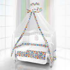 <b>Комплект</b> в кроватку <b>Beatrice Bambini</b> Unico Bambola 125х65 (6 ...