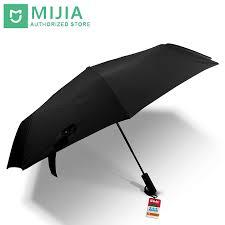 <b>Original New Xiaomi</b> Mijia umbrella Automatic Sunny Rainy ...