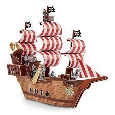 """<b>Пазл 3D</b> """"Пиратский корабль"""", <b>100 элементов</b> – купить по цене ..."""
