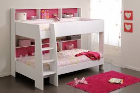 wooden bunk white bed beautiful furniture small spaces beautiful design